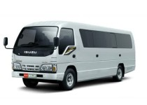 Sewa Isuzu Long ELF – 17 seat